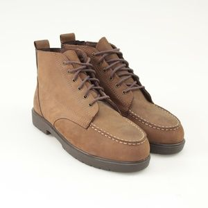 Red Wing Shoes for Women Brown Genuine Suede Boots